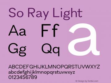 So Ray