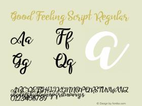 Good Feeling Script