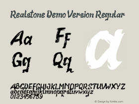 Realstone Demo Version