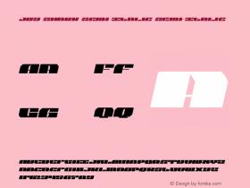 Joy Shark Semi-Italic