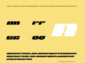Joy Shark Semi-Condensed Italic