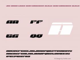 Joy Shark Laser Semi-Condensed Italic