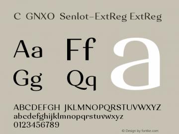CIGNXO+Senlot-ExtReg