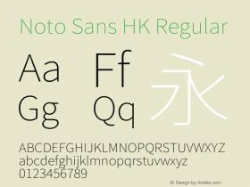 Noto Sans HK