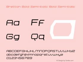 Bretton Bold Semi-Italic