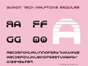Yukon Tech Halftone