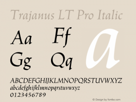 Trajanus LT Pro