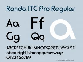 Ronda ITC Pro