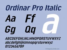 Ordinar Pro