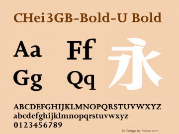 CHei3GB-Bold-U