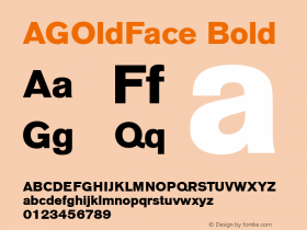AGOldFace