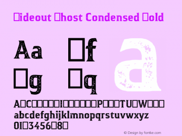Hideout Ghost Condensed