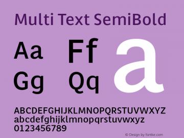 Multi Text