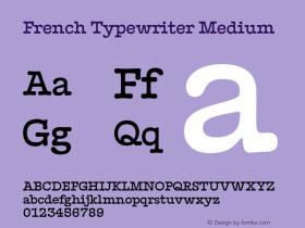 French Typewriter