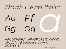 Noah Head