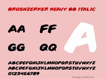 Brushzerker Heavy BB