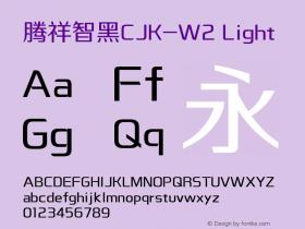 腾祥智黑CJK-W2