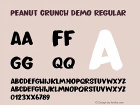 Peanut Crunch DEMO