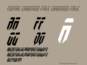 Fedyral Condensed Italic
