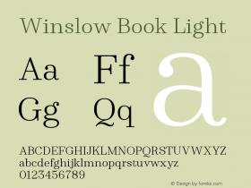 Winslow Book