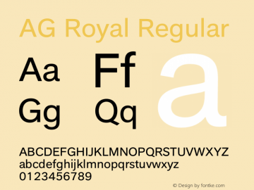 AG Royal