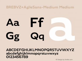 BREBVZ+AgileSans-Medium