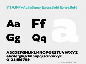 YTAJFF+AgileSans-ExtraBold