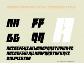 Furiosa Condensed Italic