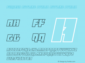 Furiosa Outline Italic