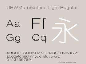 URWMaruGothic-Light
