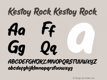 Kestoy Rock