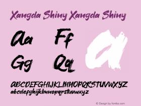 Xangda Shiny