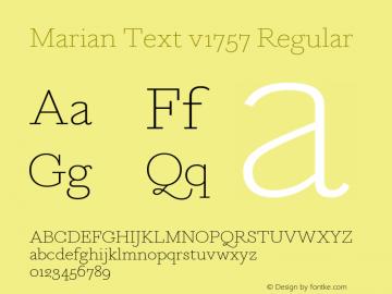 Marian Text v1757