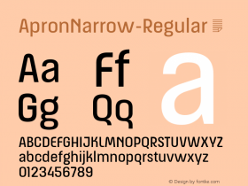 ApronNarrow-Regular