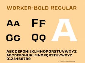 Worker-Bold