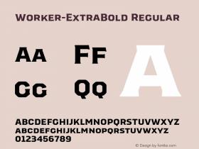 Worker-ExtraBold