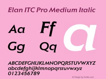 Elan ITC Pro