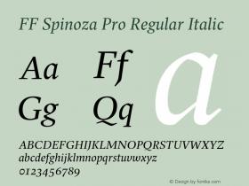 FF Spinoza Pro