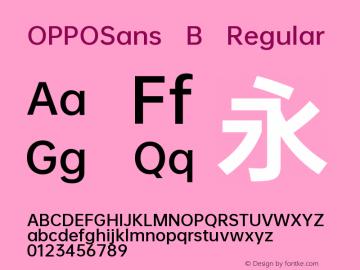 OPPOSans B