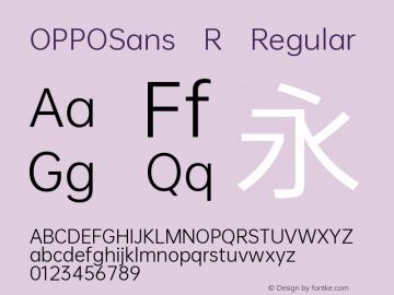 OPPOSans R