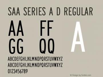 Saa Series A D