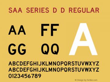 Saa Series D D