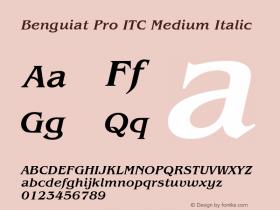 Benguiat Pro ITC