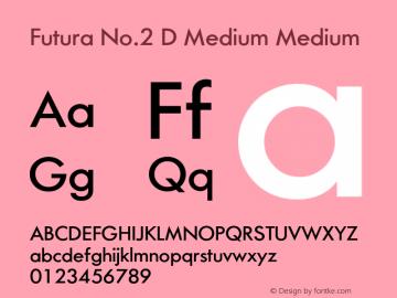 Futura No.2 D Medium