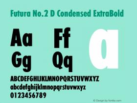 Futura No.2 D Condensed