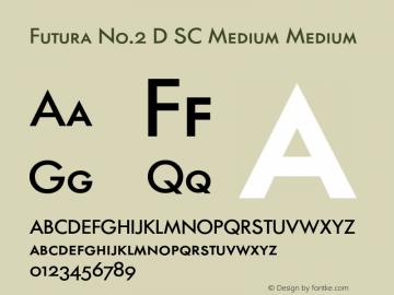 Futura No.2 D SC Medium