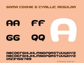 Goma Cookie G Cyrillic