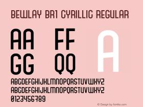 Bewlay Br1 Cyrillic