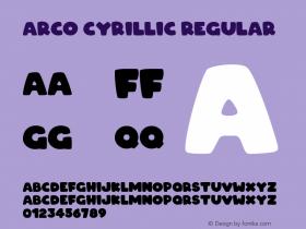 ARCO Cyrillic