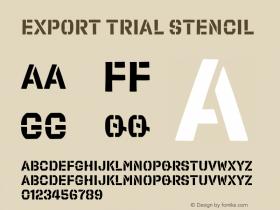Export Trial